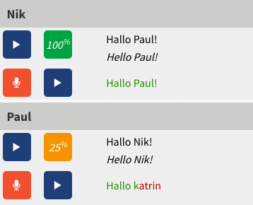 Rocket German pronunciation tool example