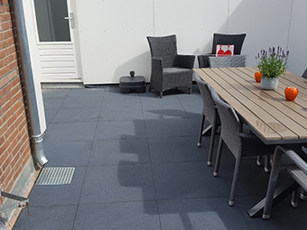 Roof Terrace hotel The Netherlands 1 Project Photo