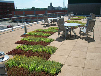 Roof terrace USA Project Photo