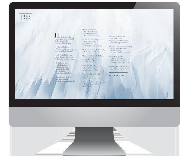 Psalm 91 Desktop Wallpaper