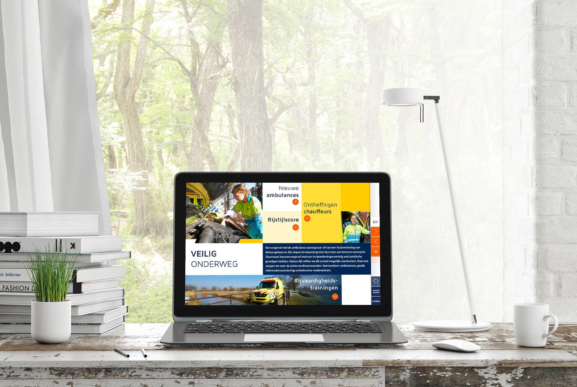 RAV digitaal jaarverslag - veilig onderweg