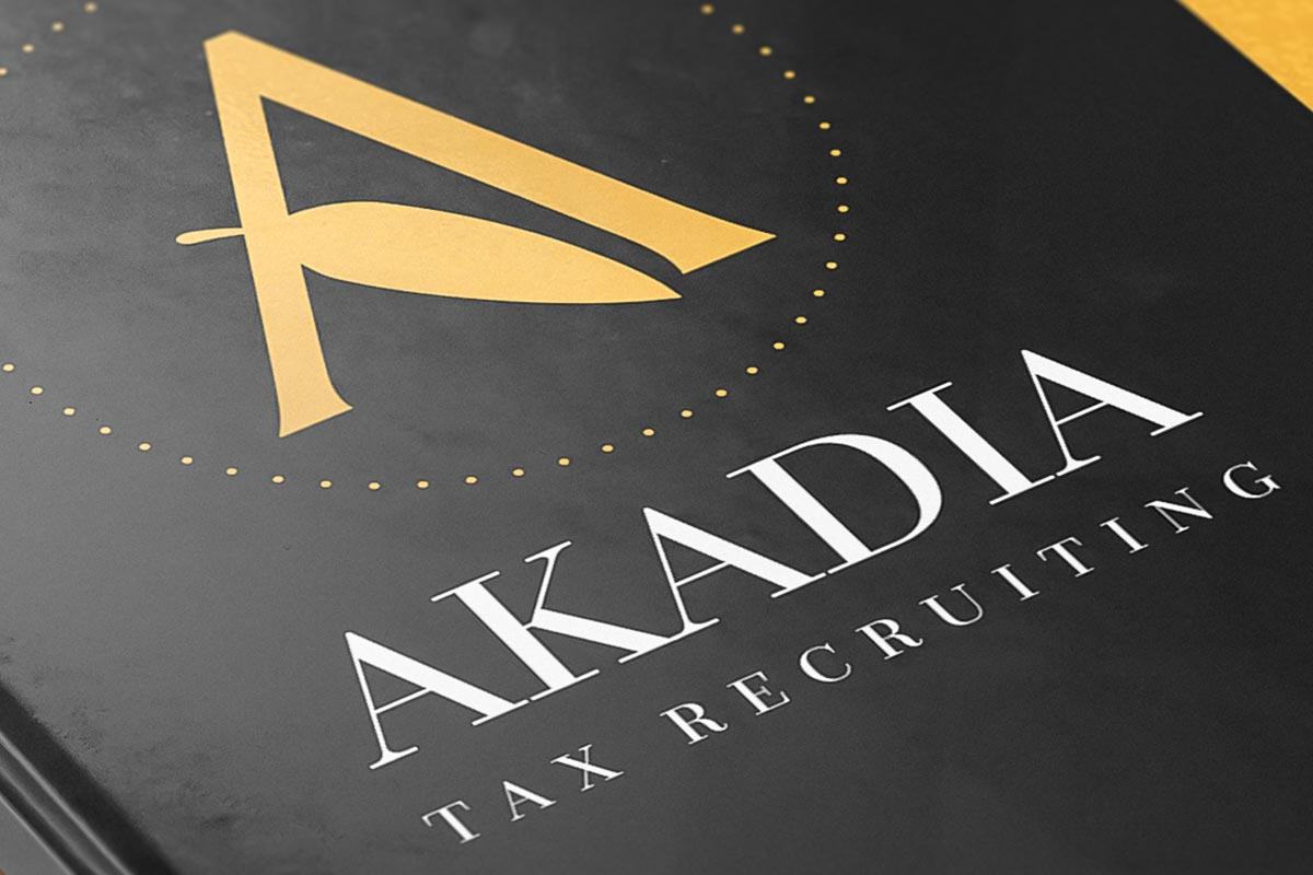 Akadia Tax Recruiting Brand Refresh & Website