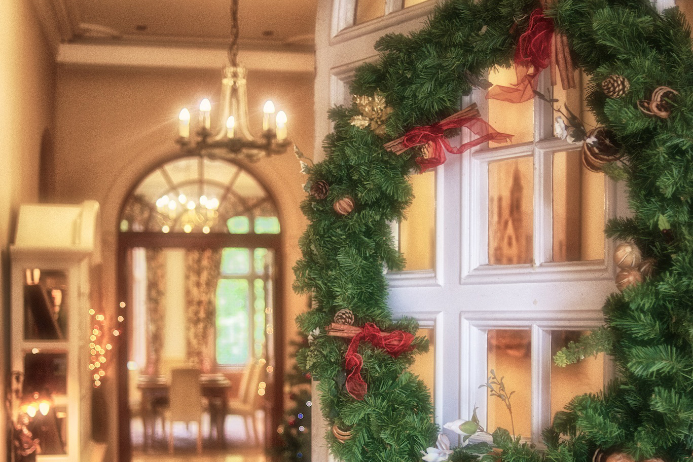 Christmas at Callow Hall Hotel, Derbyshire