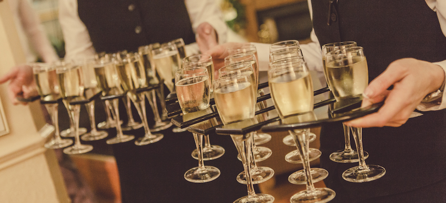 Wedding Drinks Packages at Callow Hall, Derbyshire