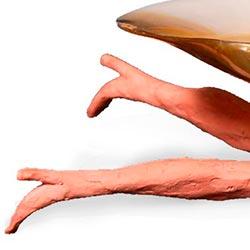 Bijou Verborgen benen Beeld Porselein