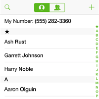 Business SMS Contacts