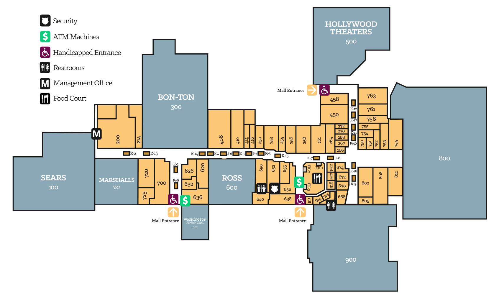Crown Conference Centre Map