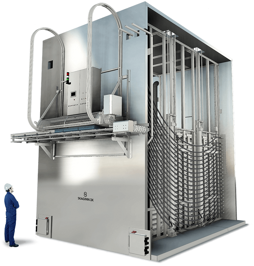 Onboard Automatic Contact Freezer