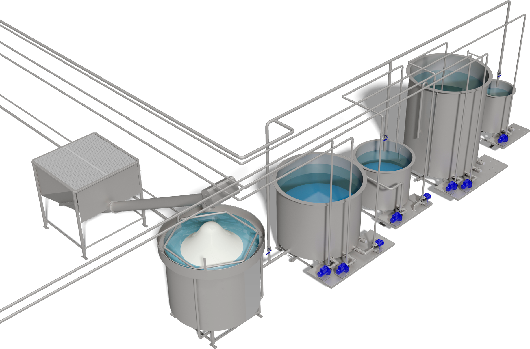 Brine Mixing Station