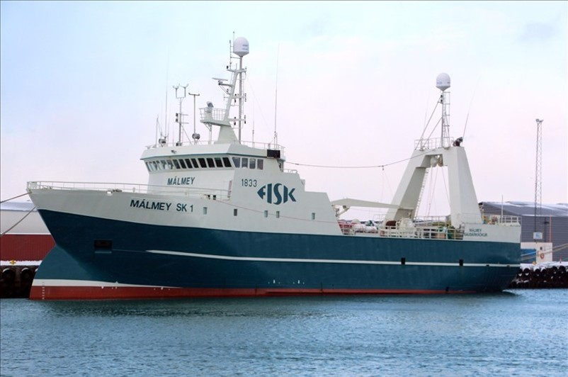 First fresh fish trawler with SUB-CHILLING™ onboard system landed the highest quantity of fish in Iceland in 2016.