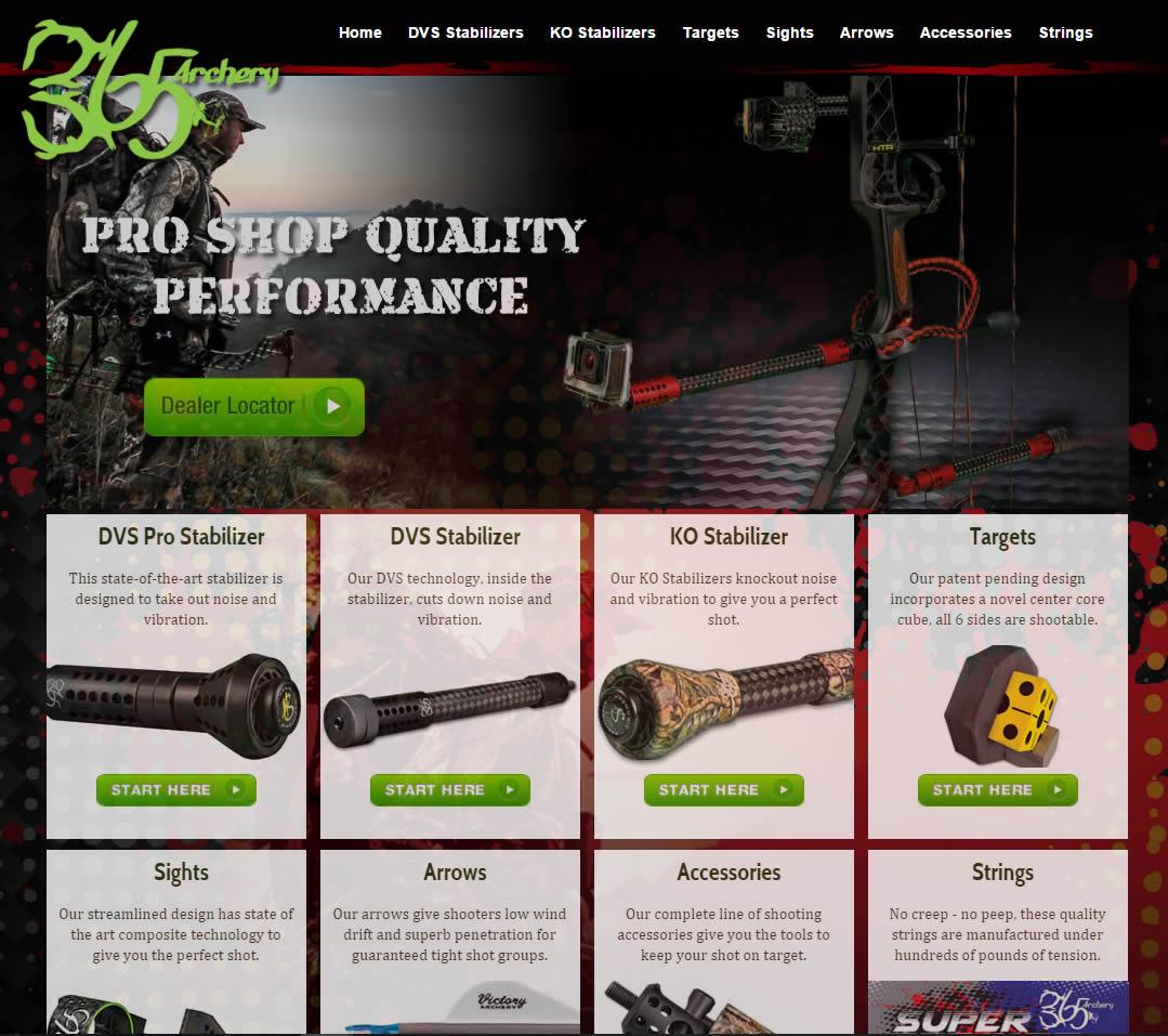 Custom web page design