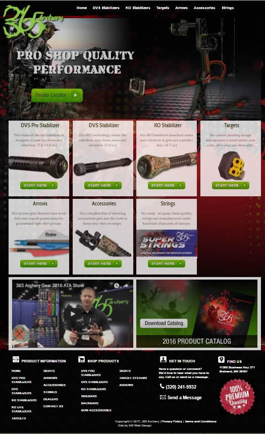 ecommerce website design - Brainerd Minnesota