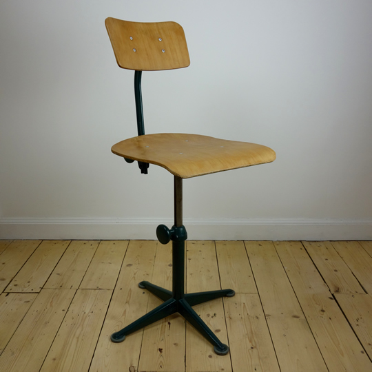Drafting stool by Friso Kramer