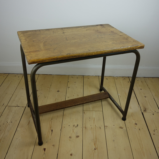 Vintage school desk by Tubax