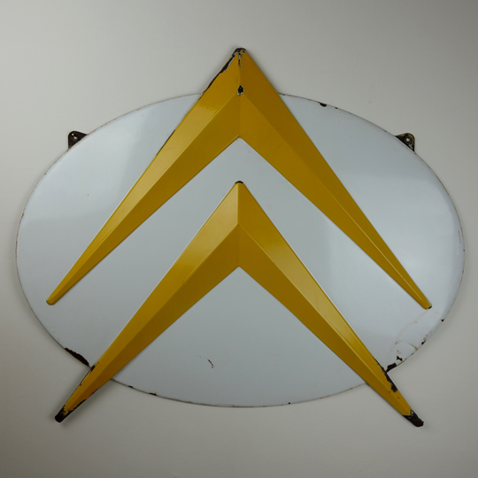1950's Citroen enamel sign