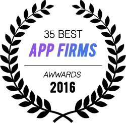 We received awards for 35 best app firms