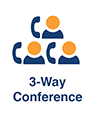 3 way conference