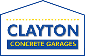 Clayton Concrete Garages Logo