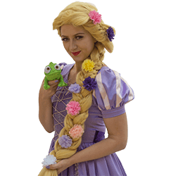 Rapunzel with Pascal