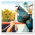 Photo of child on playground