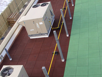 Roof application USA Photo