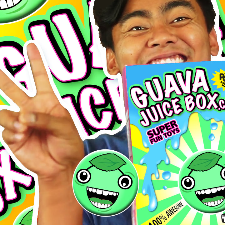Gava Joucie But The Toy : Guava juice box