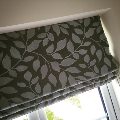 roman blinds luxury blinds in nottingham. Black Bedroom Furniture Sets. Home Design Ideas