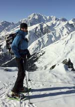 Guided snowshoeing in Chamonix, French Alps with Mountain Balance