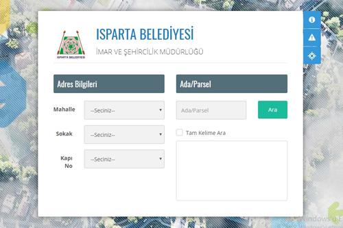 Isparta E-İmar