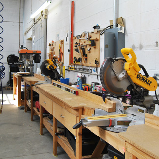 TPI Woodshop