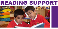 Our Reading Support programmes