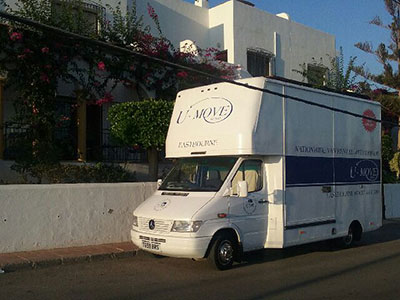 photo of u move van  in Spain
