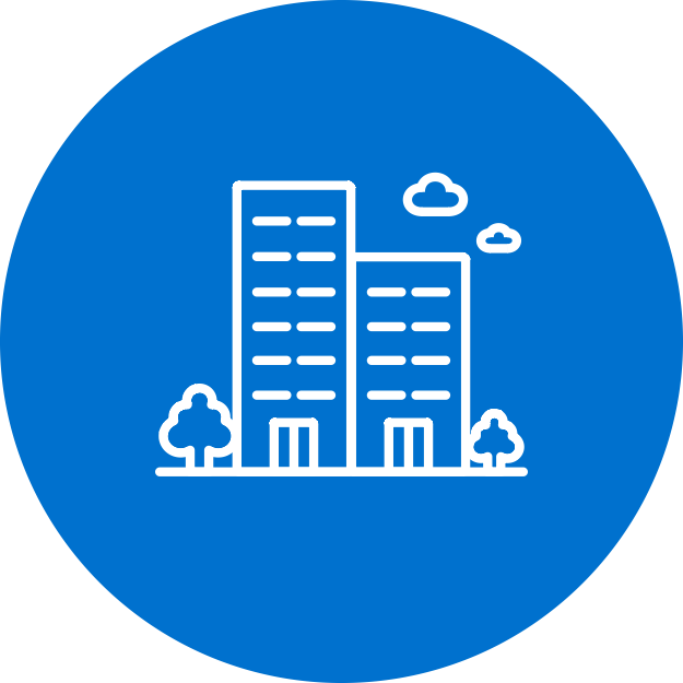 Commercial Buildings Icon