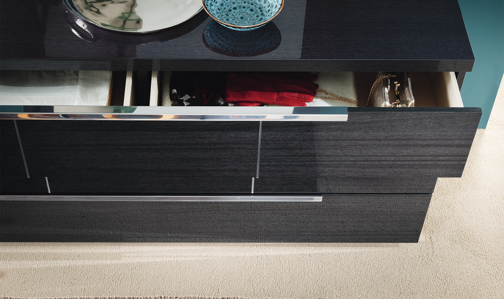 Versilia Bedroom - Dresser detailed