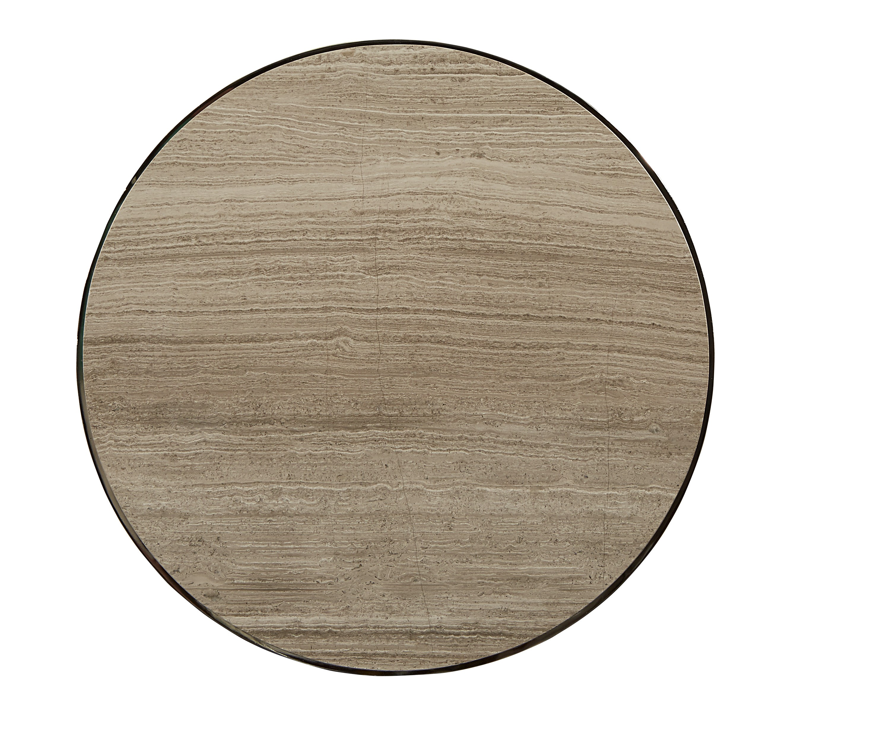 Morrissey Yeats Round Lamp Table Top view