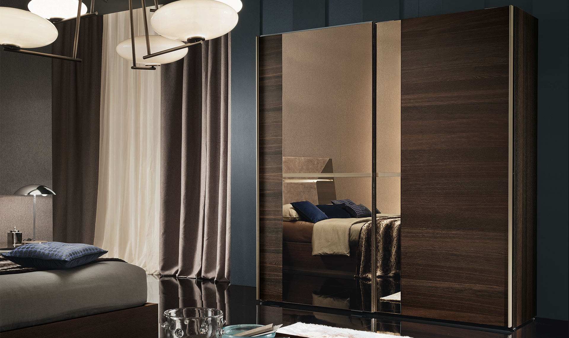 Accademia Bedroom 2/D Sliding Wardrobe