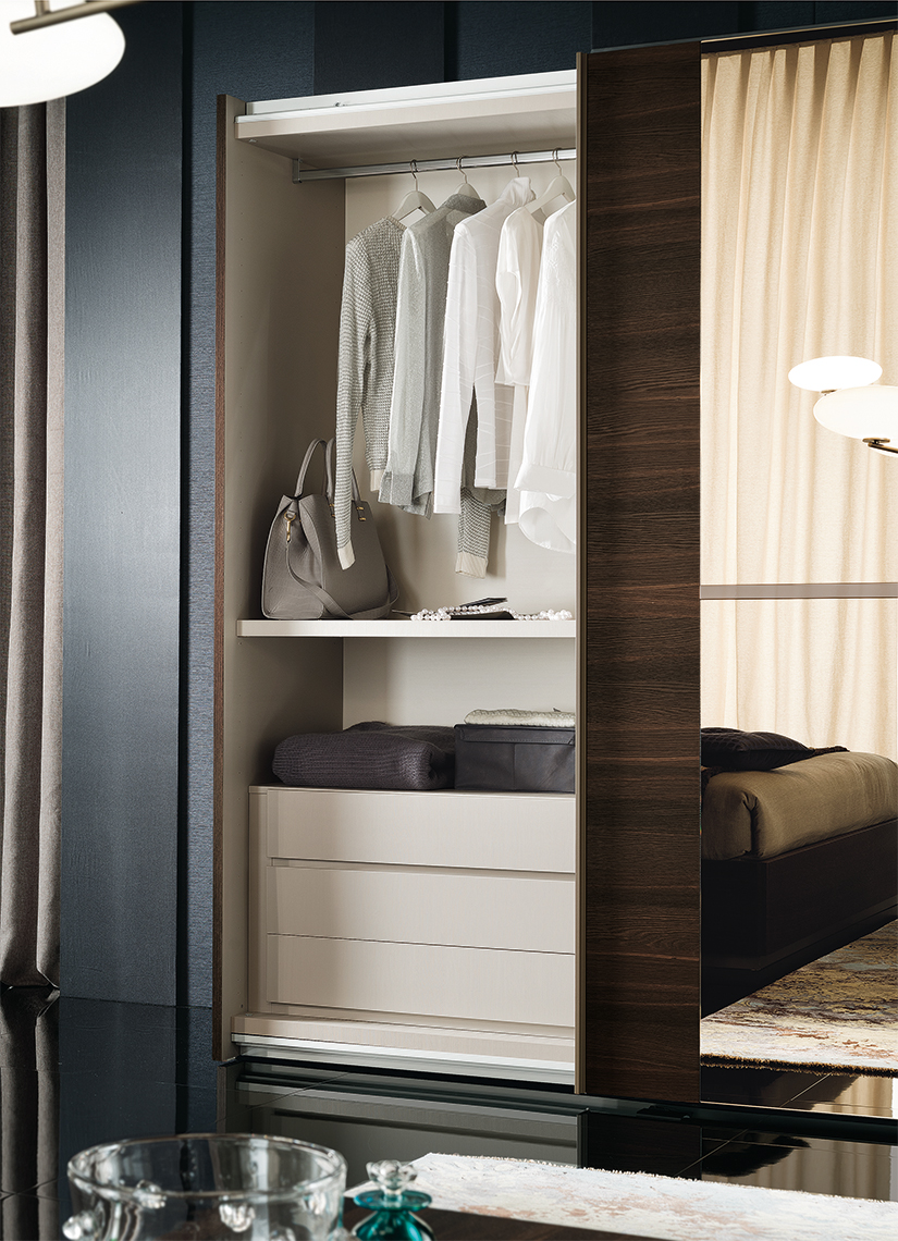 Accademia Bedroom 2/D Sliding Wardrobe Details