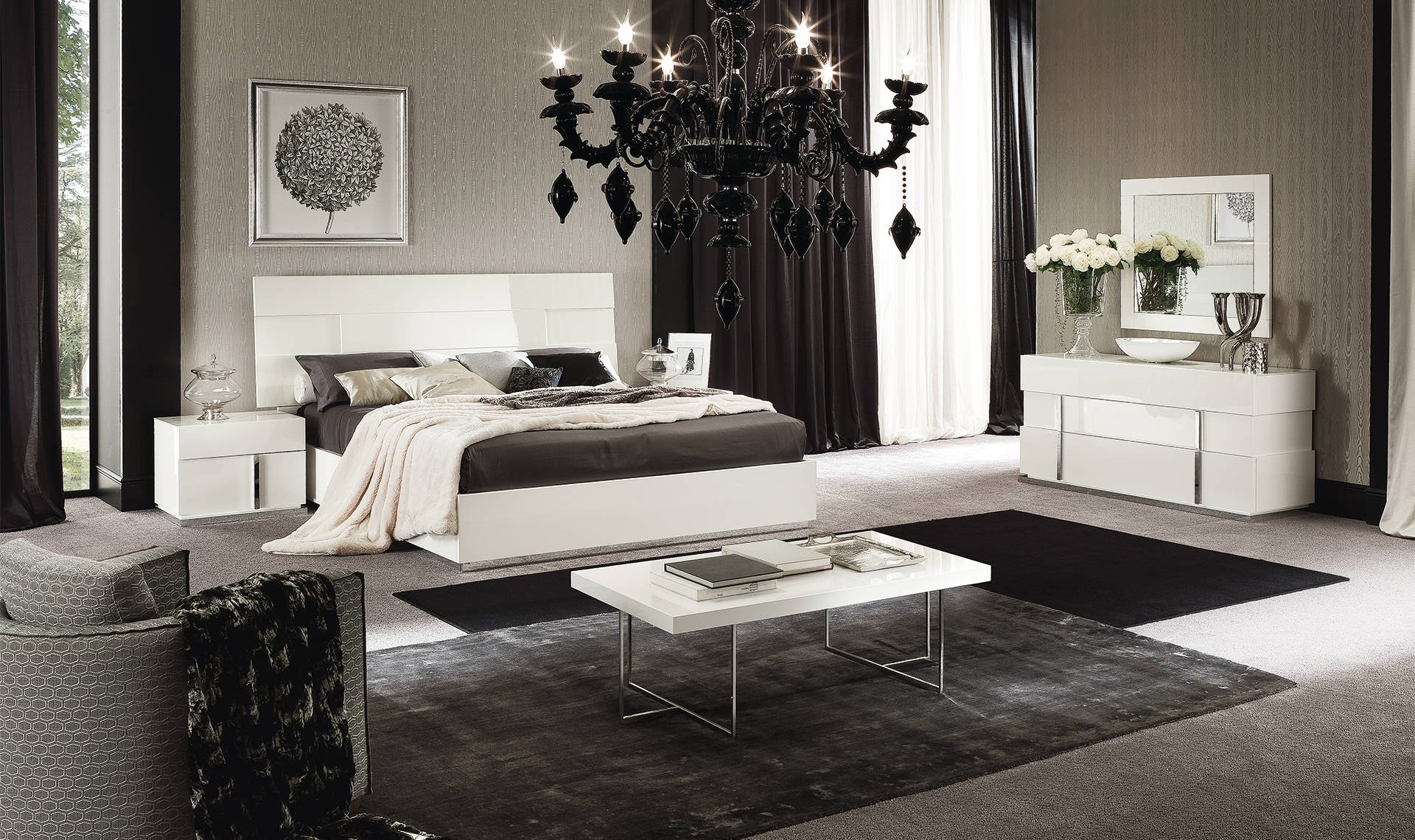"Canova Bedroom Q.S/UK 5"" Bed  Overview"