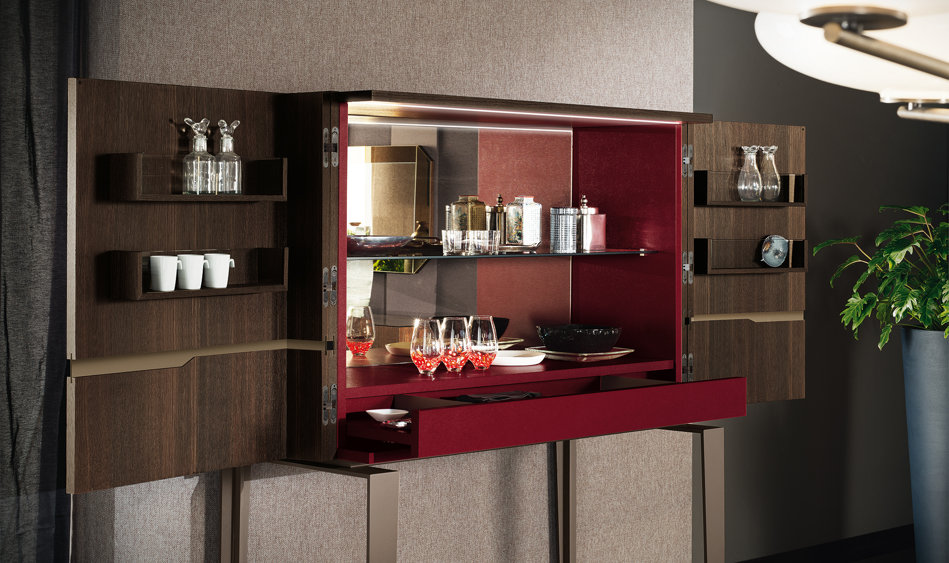 Accademia Dining Room Cocktail Cabinet