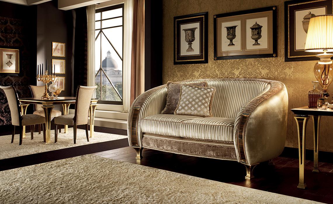 Rossini Living room two Seat sofa