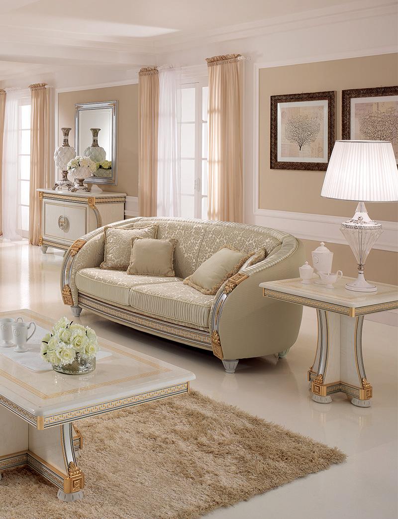 Liberty Living Room three seat sofa lamp table