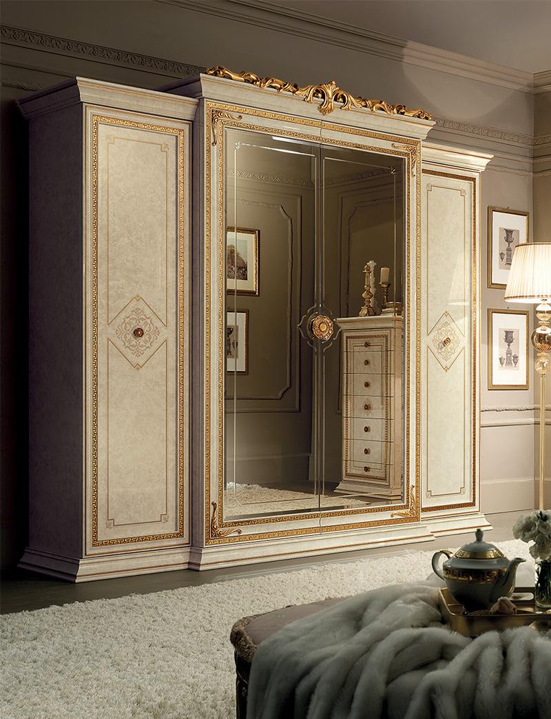 Leonardo Bedroom four doors wardrobe