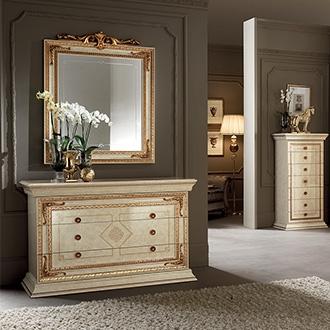 Leonardo Bedroom drawer dresser detail