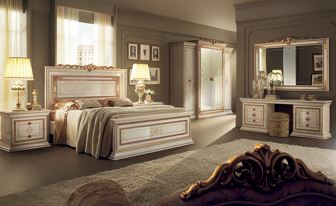 Leonardo Bedroom complete dressing table