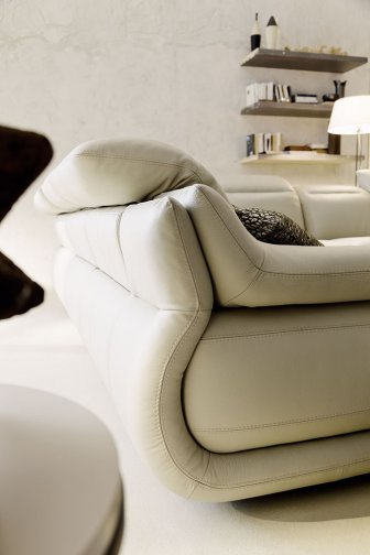 Indianapolis leather sofas deluxe left arm 2