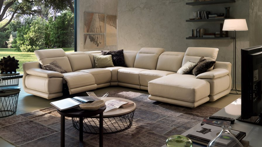 Indianapolis leather sofas deluxe overview 1