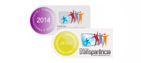 Selo Portal da Transparência 2014 e 2015