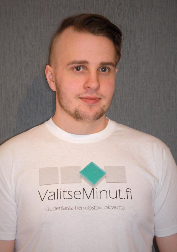 ValitseMinut työntekijä Pekka Ojansivu