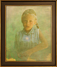 Child In Blue