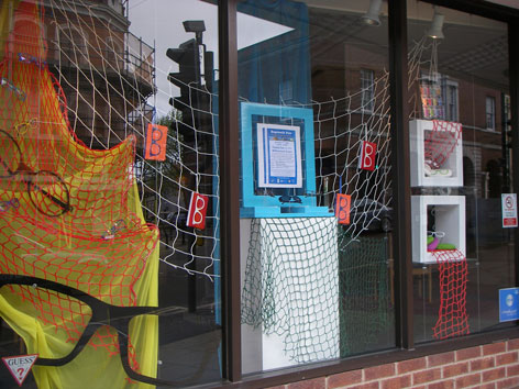 Shop window decoration competition